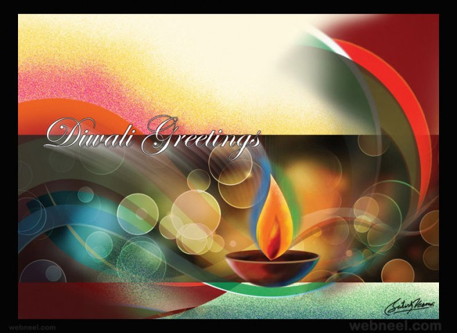 diwali greetings cards by satishverma