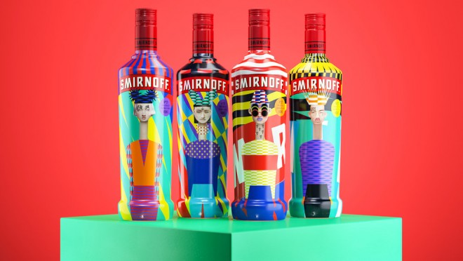 bottle package design by yarza twins