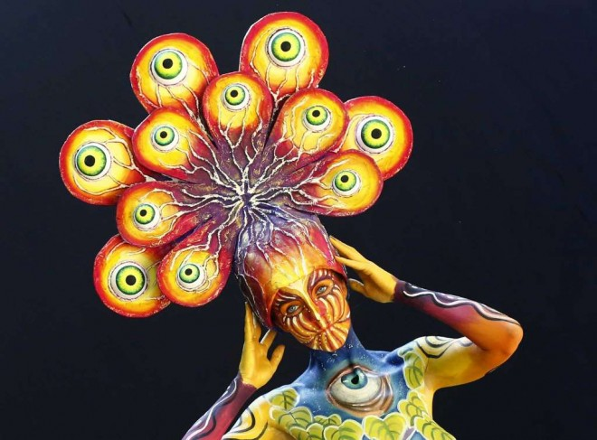 eyes world body painting festival poertschach