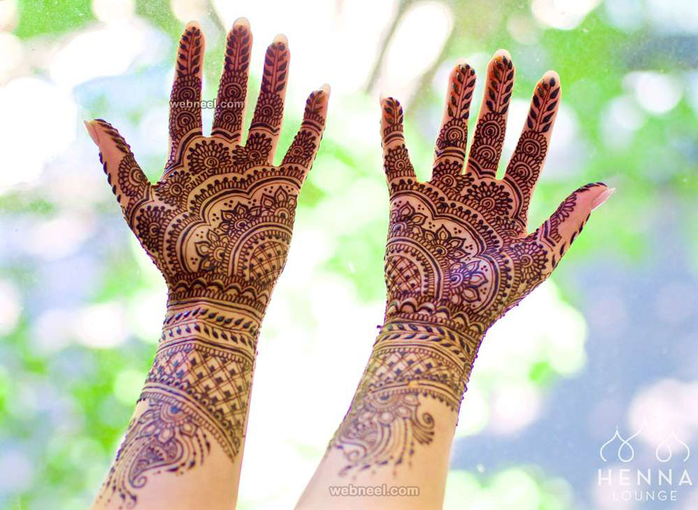 mehndi design full hand by costa