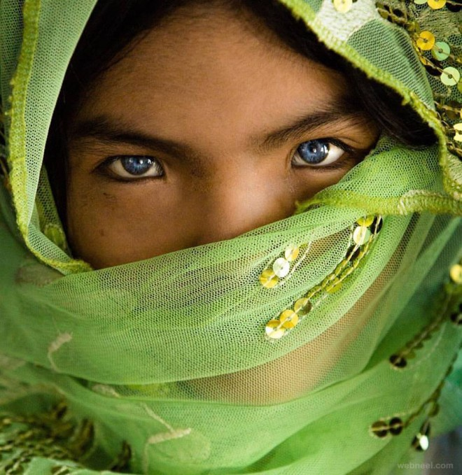 green girl by famous photographer rehahn