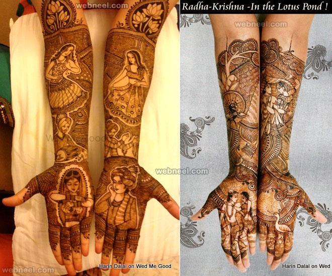 mehndi design full hand by harin dalal
