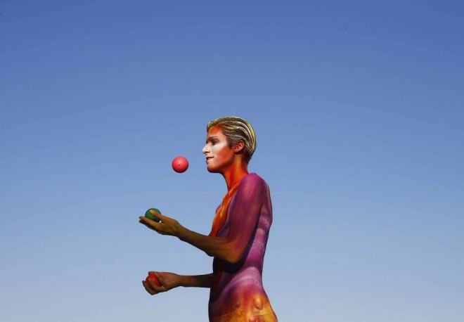 juggle world body painting festival poertschach
