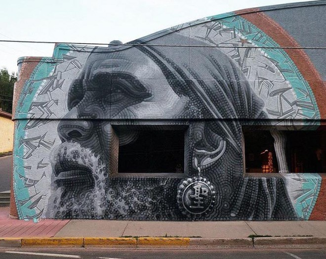 beautiful street art by elmac