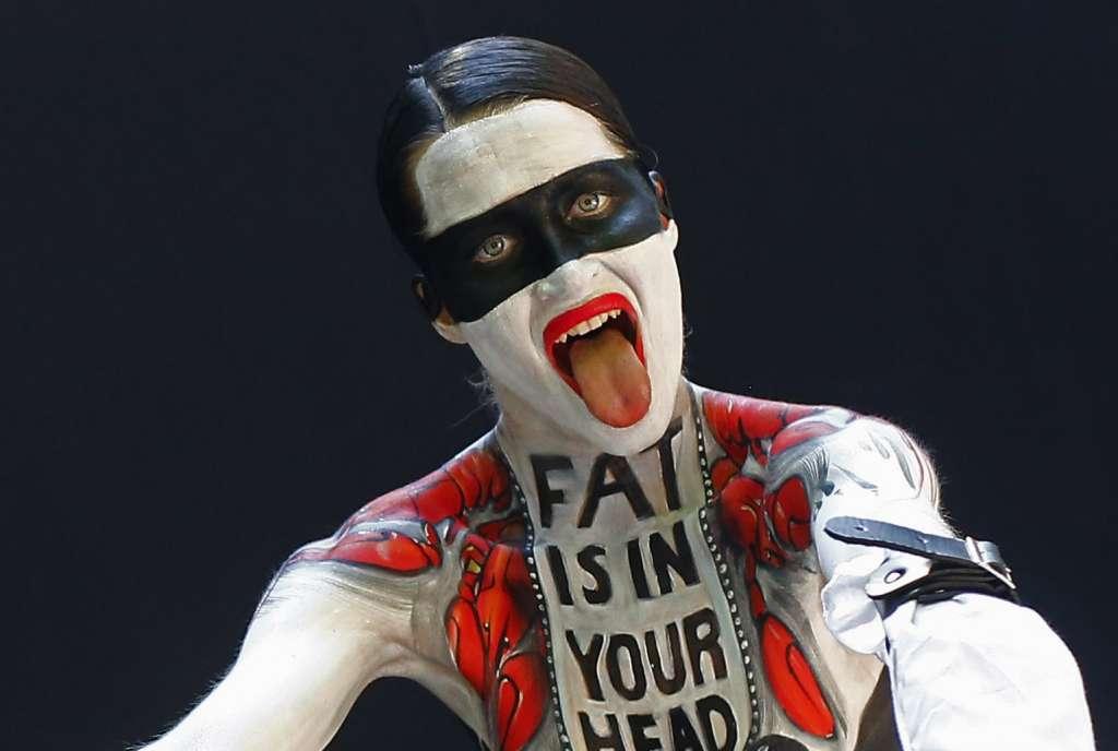 fat world body painting festival poertschach