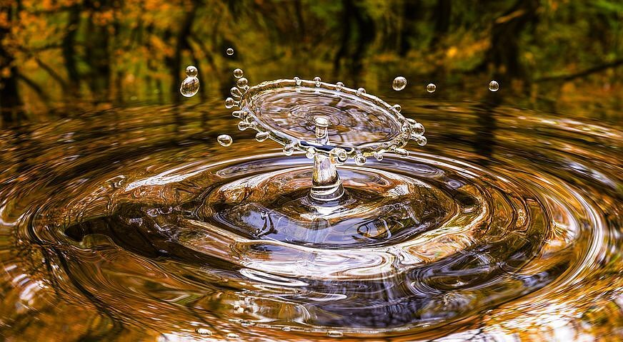 photography perfect time water drops