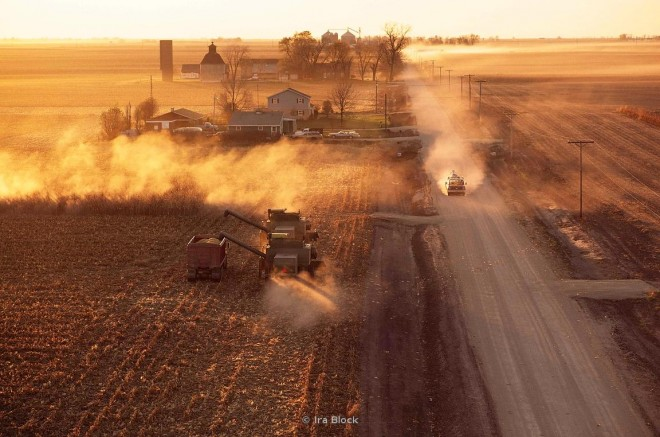 farmers weekly harvesting corn photography