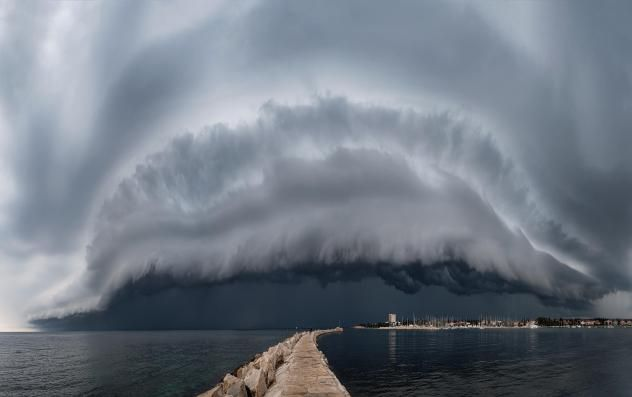 weather photography monster