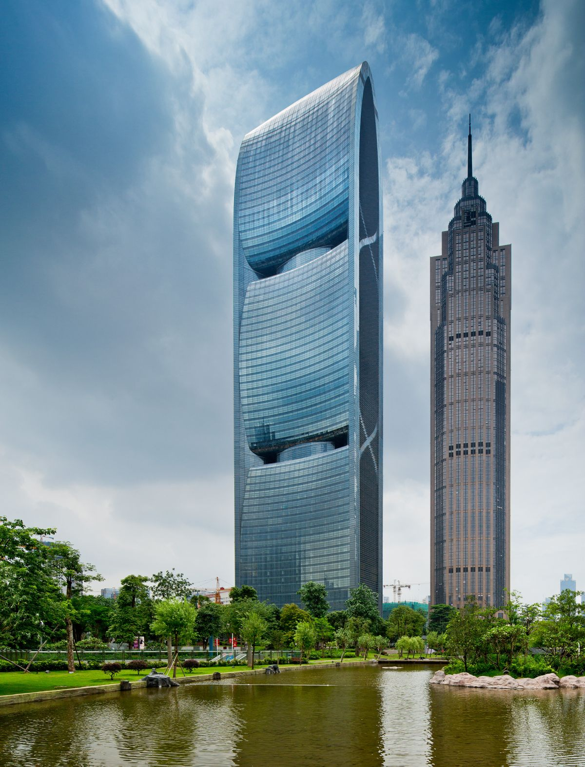 building photography pearl river tower