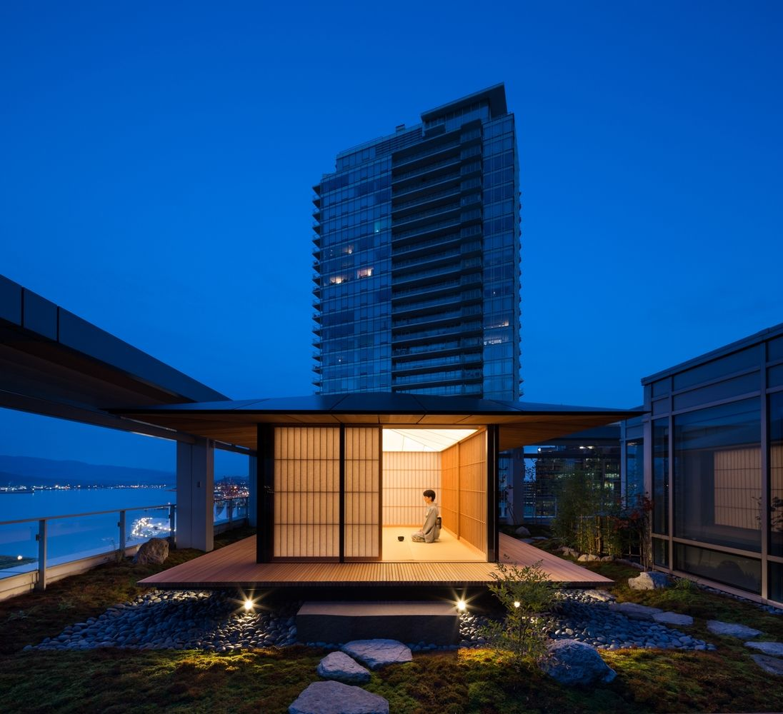 best award winning architecture photo teahouse by ema peter