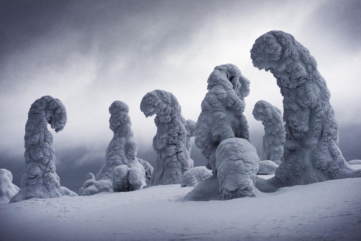 landscape photography awards frozen giants by ignacio palacios