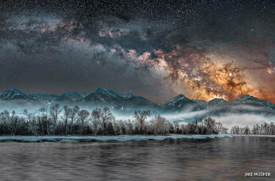 wildlife photography contest milky way by jake mosher