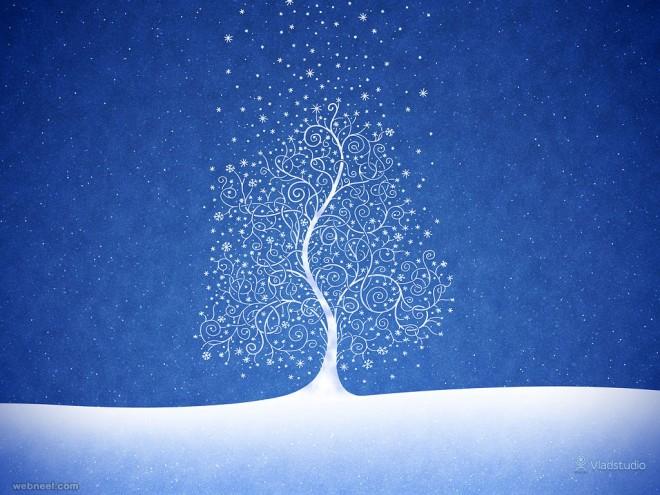 illustration christmas wallpaper