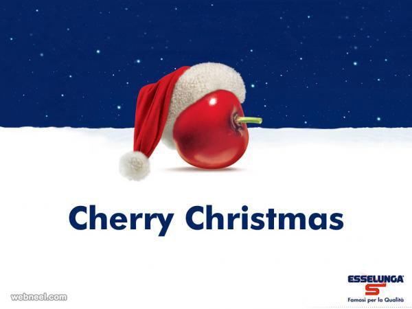 christmas ads esselunga cherry