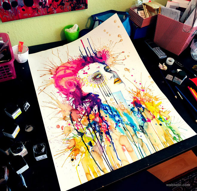 14 colorfull painting