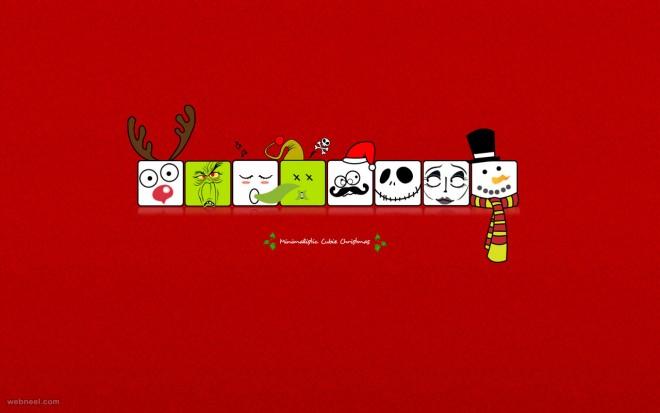 drawing christmas wallpaper