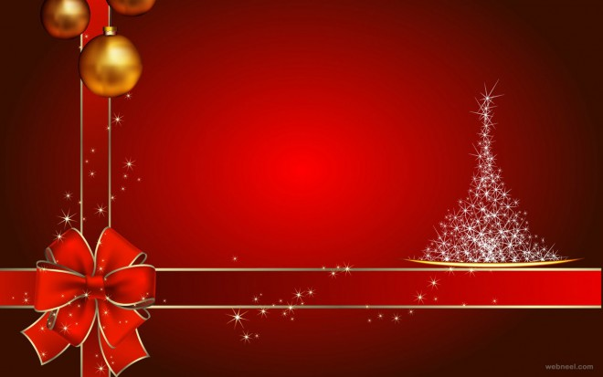ribbon christmas wallpaper