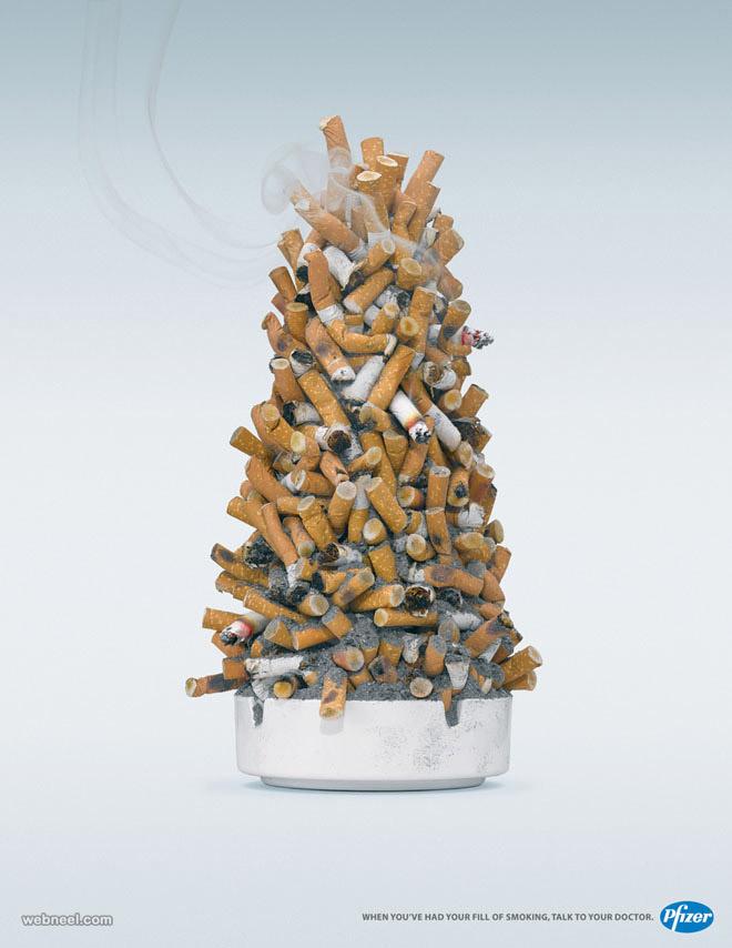 christmas ads pfizer smoke