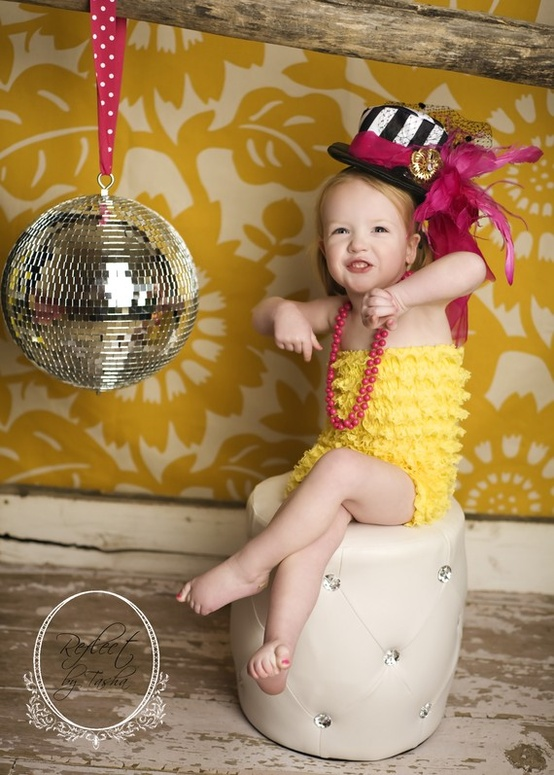 love this photo! what a cutie! for new year's eve!