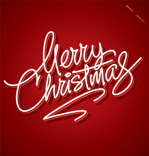 christmas typography 10
