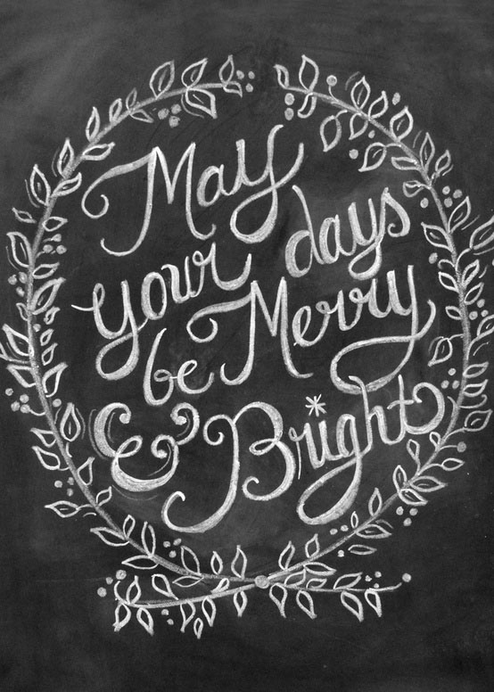 christmas typography (12)