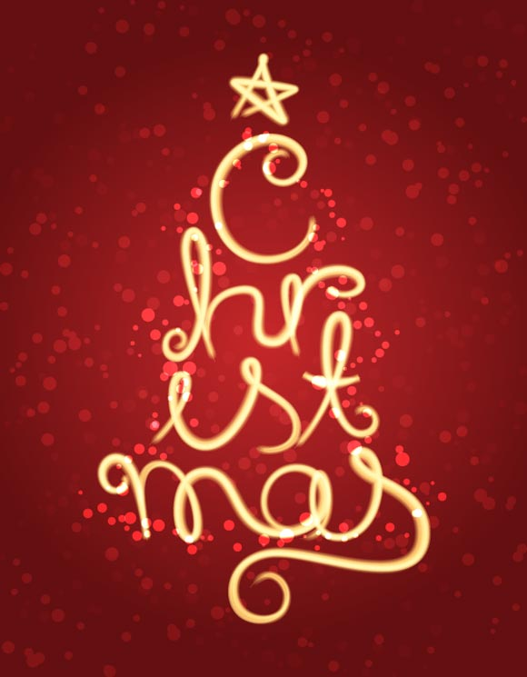 christmas typography (14)