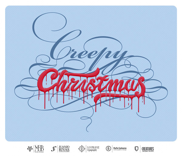 christmas typography (28)