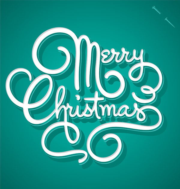 christmas typography 9