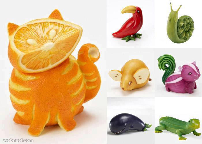 fruit art ideas
