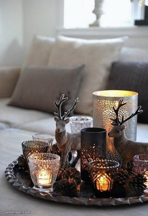 reindeer candles