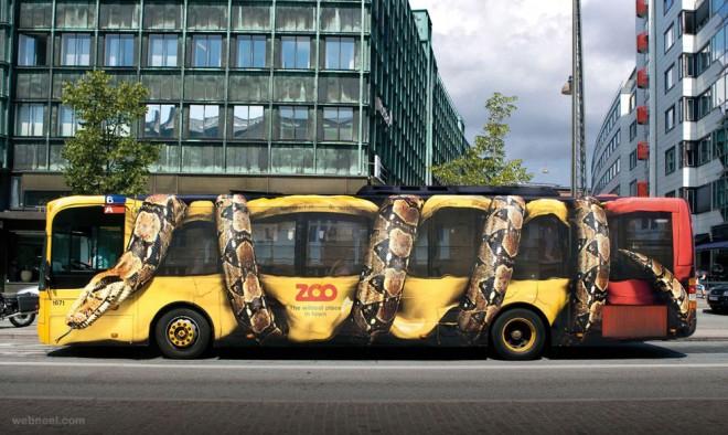 advertising ideas bus