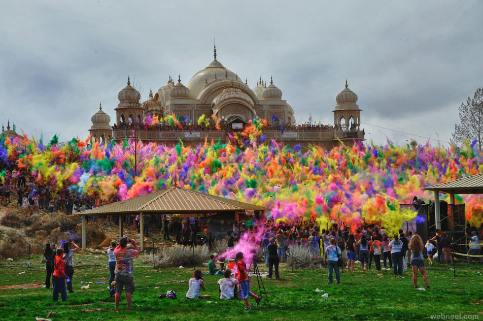 incredible india holi festival