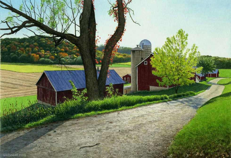 watercolor painting steven kozar