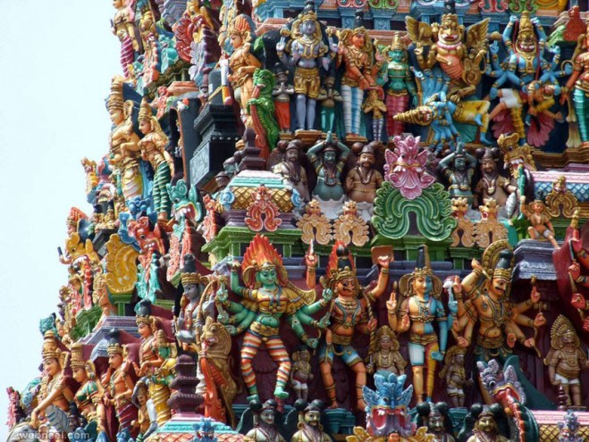 incredible india meenakshi amman temple  IMAGES, GIF, ANIMATED GIF, WALLPAPER, STICKER FOR WHATSAPP & FACEBOOK
