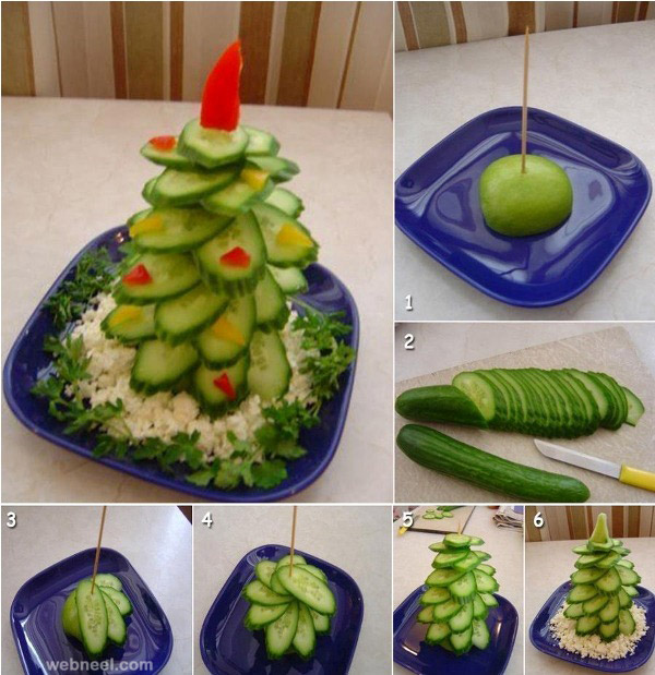 christmas tree vegetable