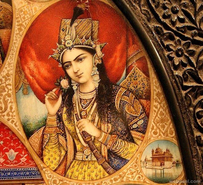 mughal painting shahjahan