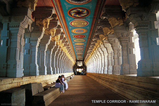 rameswaram temple incredible india  IMAGES, GIF, ANIMATED GIF, WALLPAPER, STICKER FOR WHATSAPP & FACEBOOK