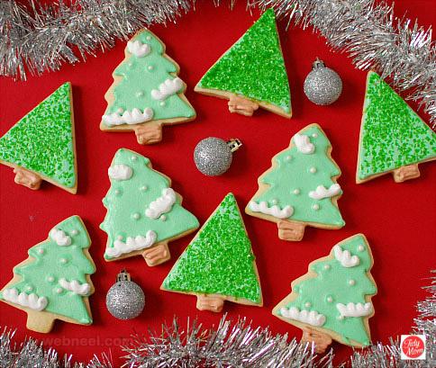 christmas tree cookie decorating ideas