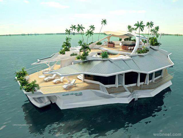 beautiful boat design
