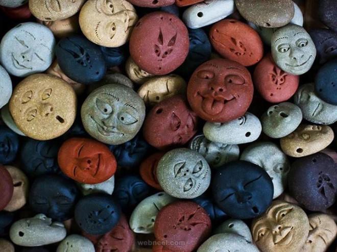 pebbles sculpture
