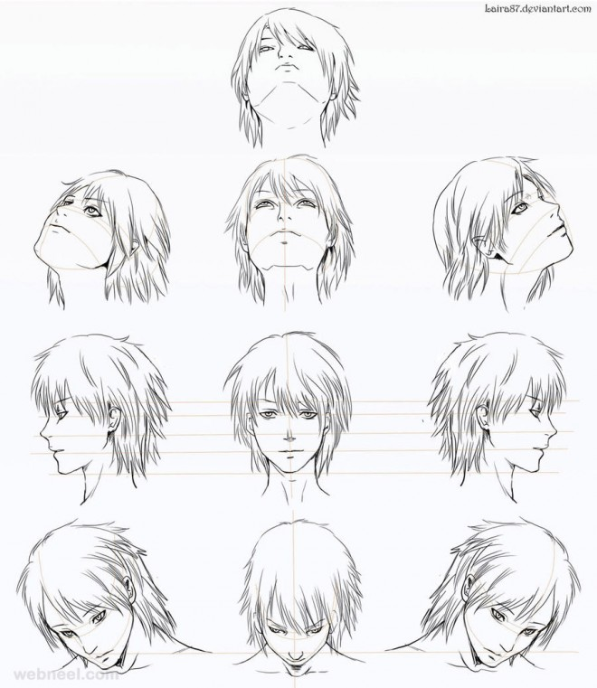how to draw anime laira87