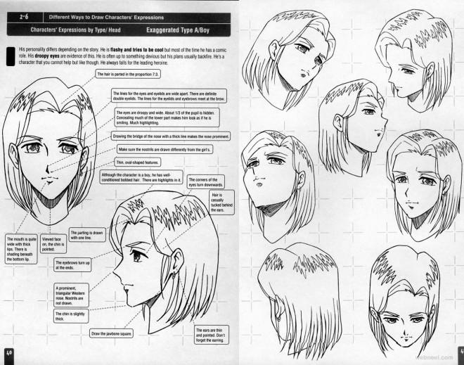 anime drawing female