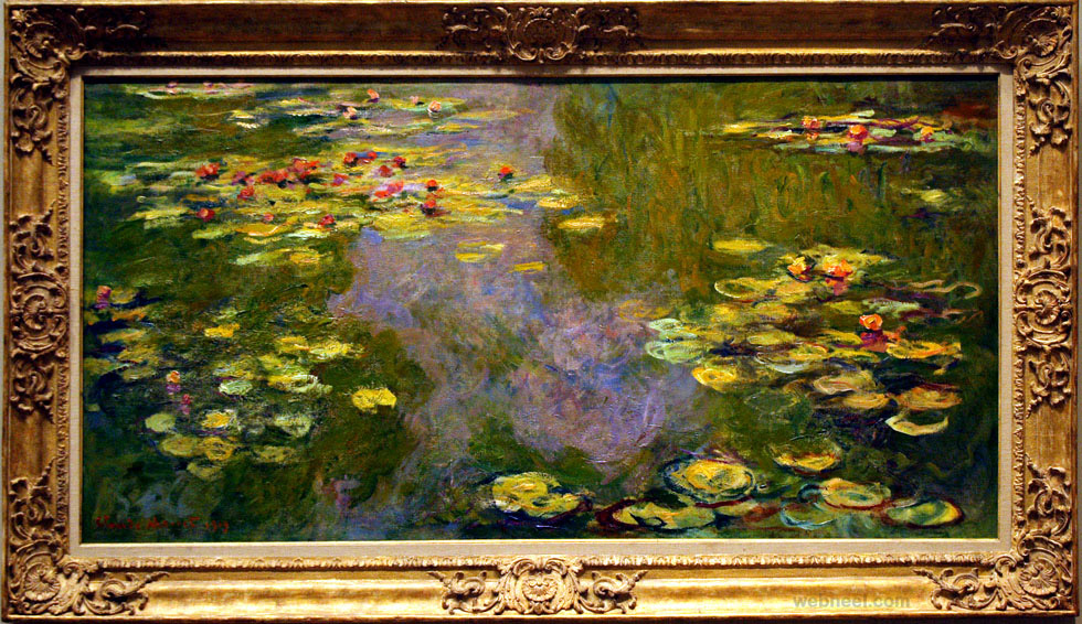 monet water lilies artwork