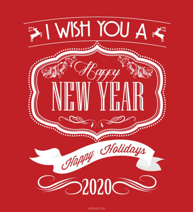 happy new year greeting 2020