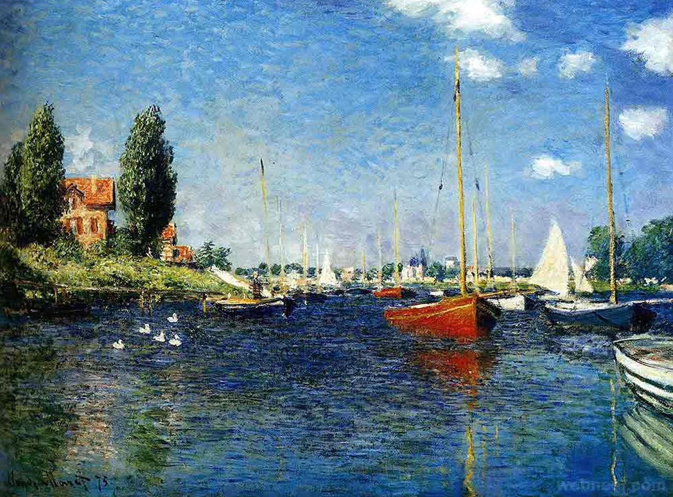 claude monet paintings