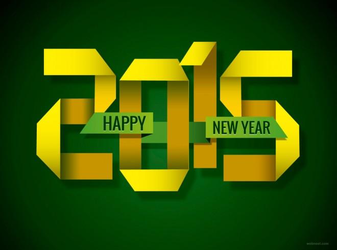 new year card greetings 2015