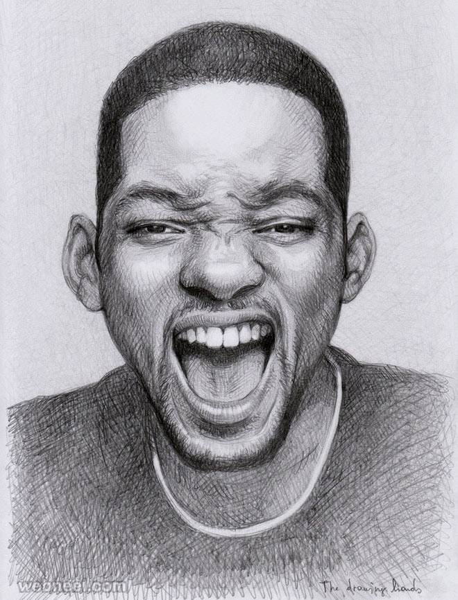 portrait drawing will smith d4hoxwb