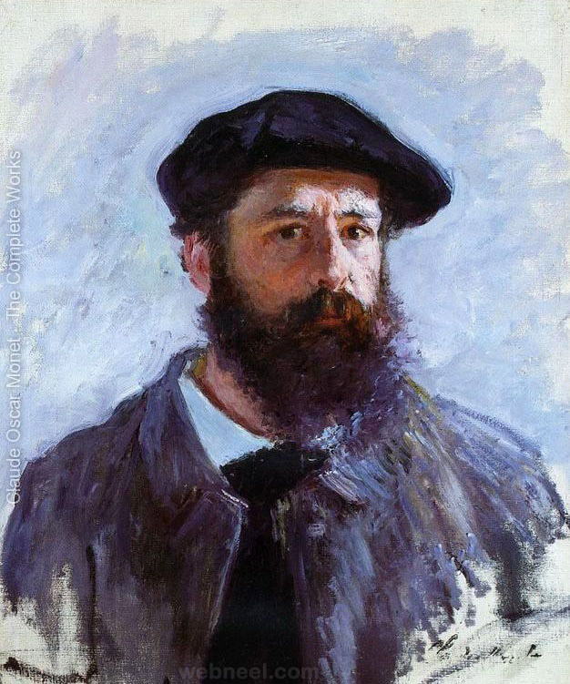 self portrait claude monet paintings
