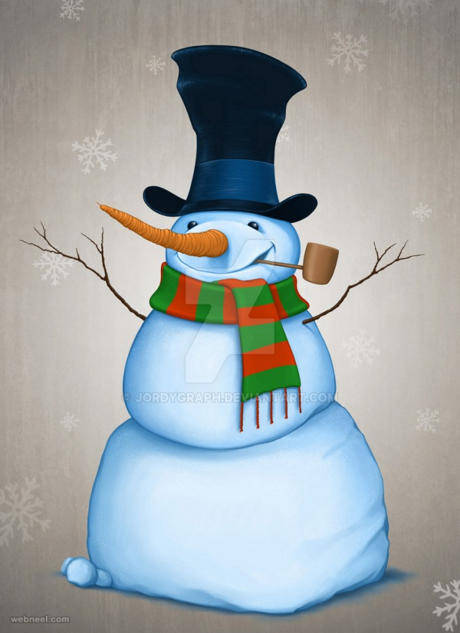 snowman pictures digital art by jordygraph