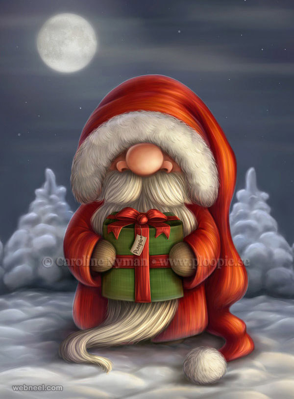 santa claus pictures digital art by ploopie